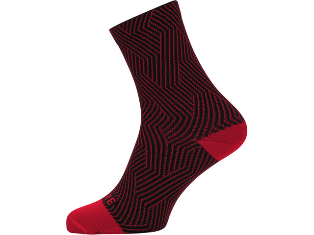 GORE WEAR C3 Optiline Mid Socks red/black